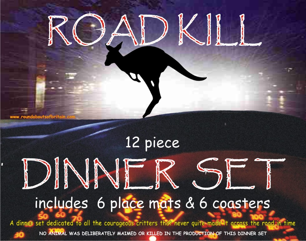 Road Kill Dinner Set