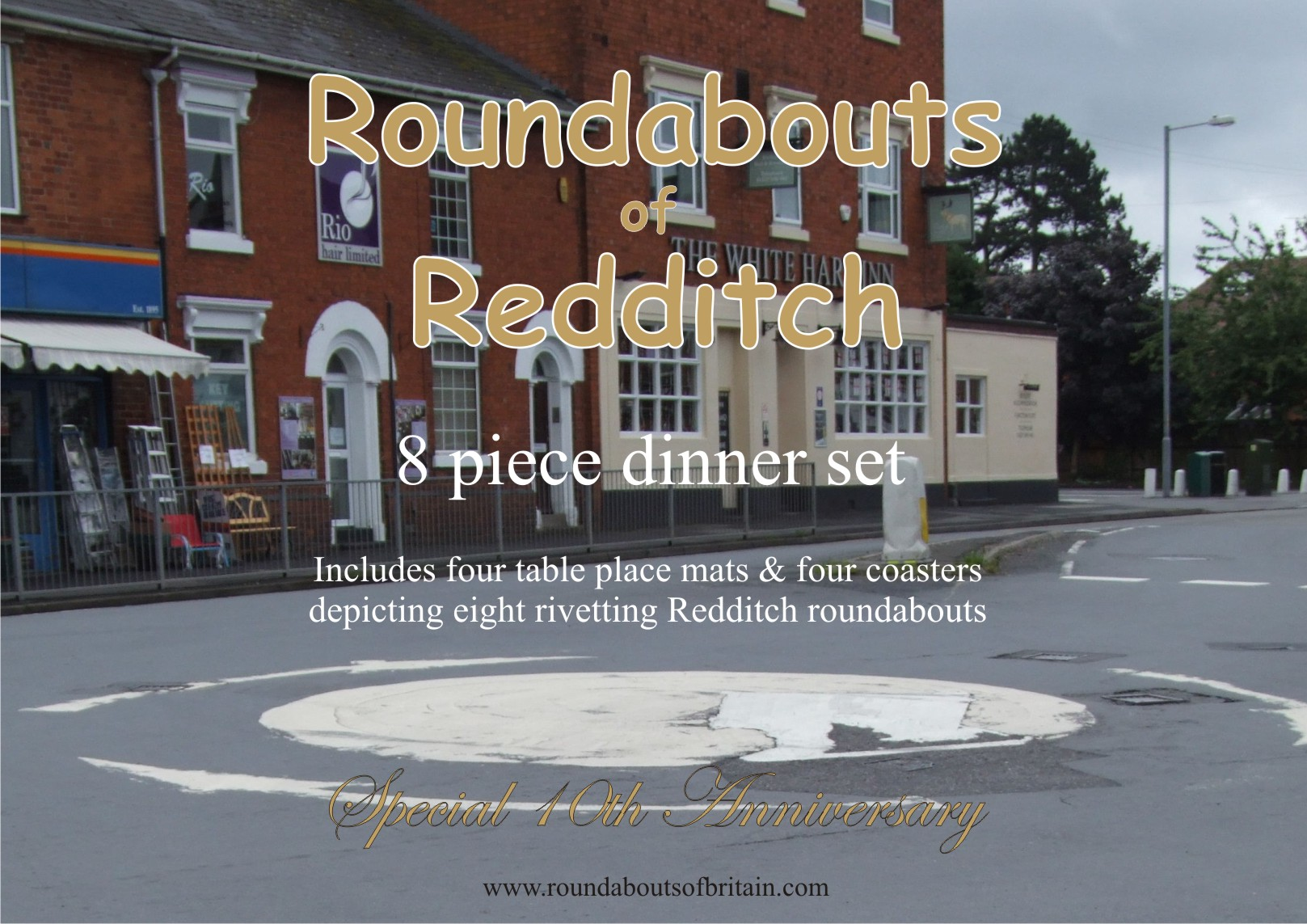 redditch dinner set 8 piece