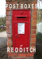 POST BOXES of REDDITCH 2018 calendar
