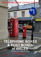 Telephone Boxes & Post Boxes of Wales (sharing the same location) 2018 wall calendar