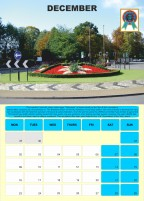 Best of British Roundabouts 2019 wall calendar