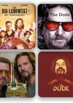 The Big Lebowski – coaster set of 4