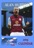 Alan Hutton – THE SCOTTISH CAFU 2019 calendar