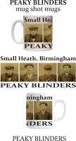 PEAKY BLINDERS mug-shot mugs