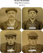 Peaky Blinders Coaster Set (4 piece)
