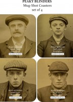 Original Peaky Blinders Coaster Set (4 piece)