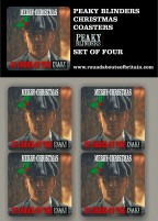 Peaky Blinders Christmas Coasters
