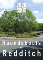 ROUNDABOUTS OF REDDITCH 2020 A3 WALL CALENDAR