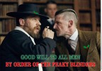 PEAKY BLINDERS CHRISTMAS CARD – 'GOOD WILL TO ALL MEN'