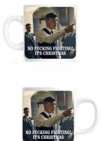 PEAKY BLINDERS CHRISTMAS MUG – No f**king fighting! It's Christmas!