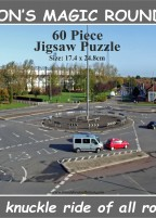 Piss-Poor Puzzles present Swindon's Magic Roundabout 60 piece jigsaw