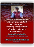 Holte Ender in the Sky – memorial tribute plaque