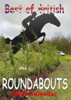 BEST OF BRITISH ROUNDABOUTS 2021 wall calendar
